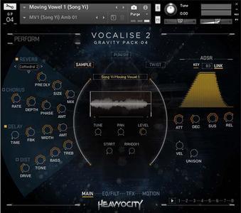 人声音效音源Heavyocity Media Vocalise 2 KONTAKT