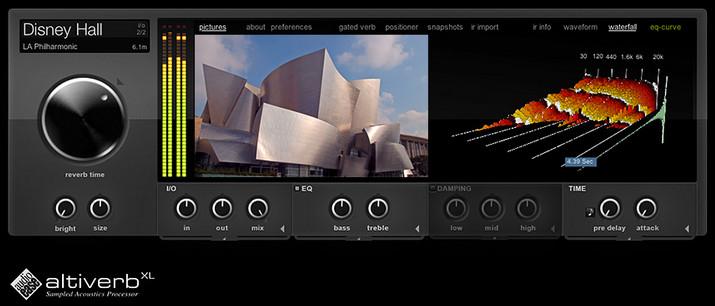 最好的卷积混响效果器Altiverb 7.28 XL(推荐)