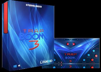 节奏合成器音源Studiolinked Trap Boom 3 win&MAC