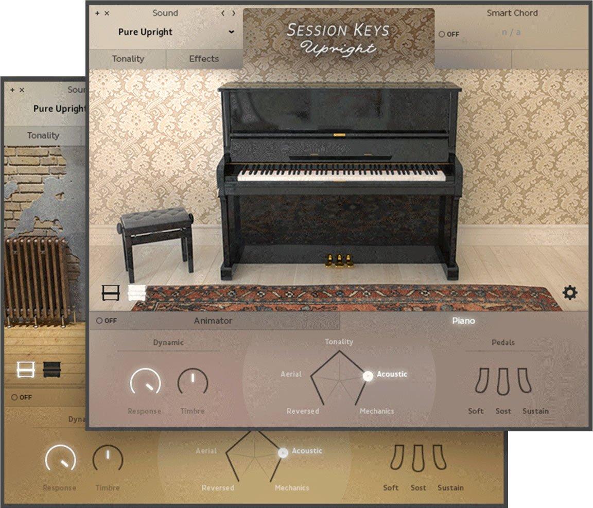 钢琴音源e-instruments Session Keys Upright v1.0 KONTAKT