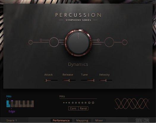 打击乐音源Native Instruments Symphony Series Percussion KONTAKT
