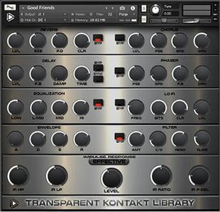 音频制作工具Global Audio Tools Transparent KONTAKT