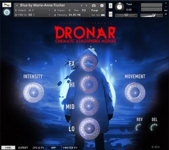 影视配乐音源Gothic Instruments DRONAR Cinematic Atmospheres KONTAKT