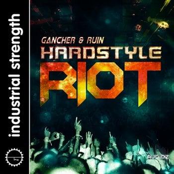 制作人必备鼓音源Industrial Strength Gancher and Ruin Hardstyle Riot WAV NI Battery KONTAKT