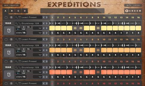 节奏合成器音源Sample Logic Expeditions KONTAKT