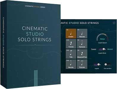 独奏管弦乐音源Cinematic Studio Solo Strings KONTAKT