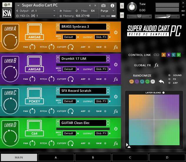 合成器音源Impact Soundworks Super Audio Cart PC KONTAKT
