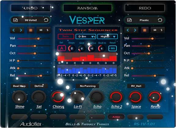 合成器音源Audiofier Vesper v1.1.1 KONTAKT
