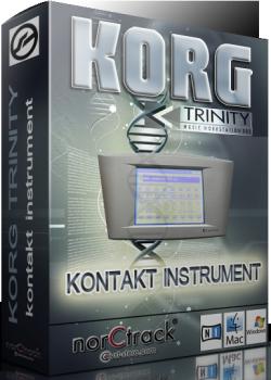 合成器音源norCtrack Korg Trinity KONTAKT Library